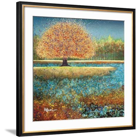 Jewel River-Melissa Graves-Brown-Framed Art Print