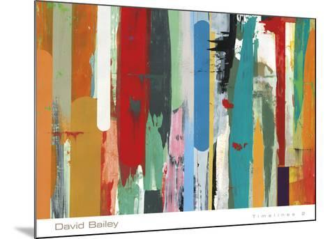 Timelines 2-David Bailey-Mounted Art Print