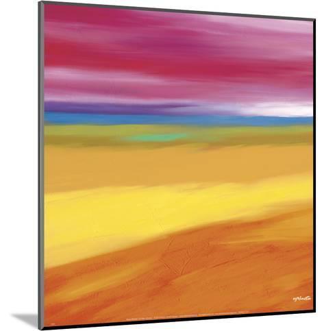 Prairie Abstract 1-Mary Johnston-Mounted Art Print