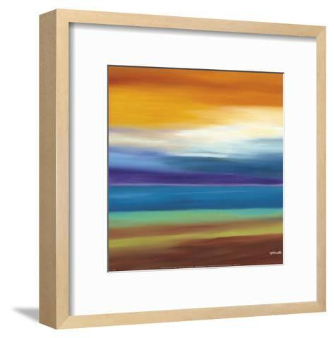 Prairie Abstract 3-Mary Johnston-Framed Art Print