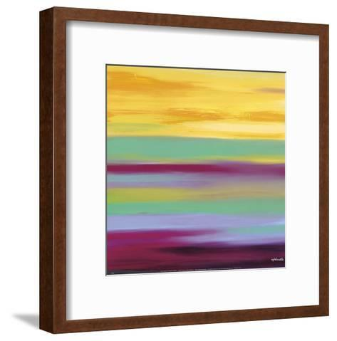 Prairie Abstract 6-Mary Johnston-Framed Art Print
