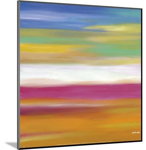 Prairie Abstract 7-Mary Johnston-Mounted Art Print