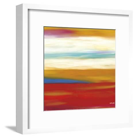 Prairie Abstract 9-Mary Johnston-Framed Art Print