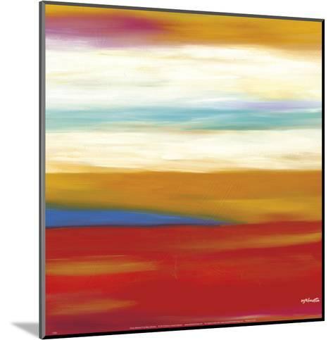 Prairie Abstract 9-Mary Johnston-Mounted Art Print