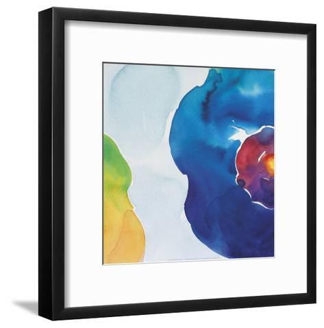Jewels, Blue-Deborah LaMotte-Framed Art Print