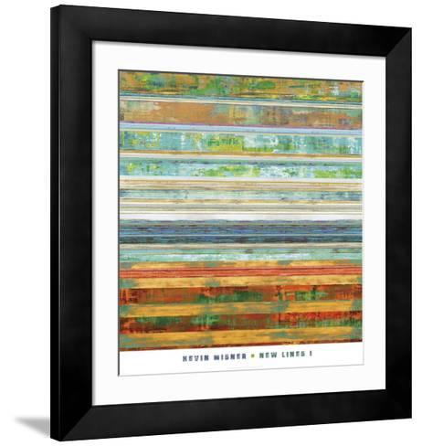 New Lines 1-Kevin Misner-Framed Art Print