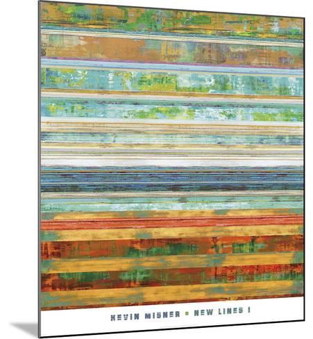 New Lines 1-Kevin Misner-Mounted Art Print