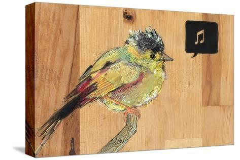 Tweet-Charmaine Olivia-Stretched Canvas Print