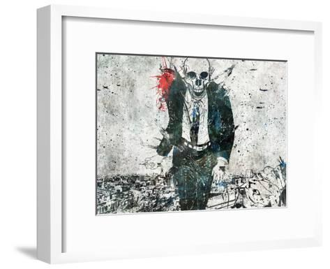 Remorse is for the Dead-Alex Cherry-Framed Art Print