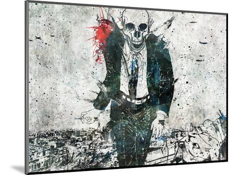 Remorse is for the Dead-Alex Cherry-Mounted Art Print