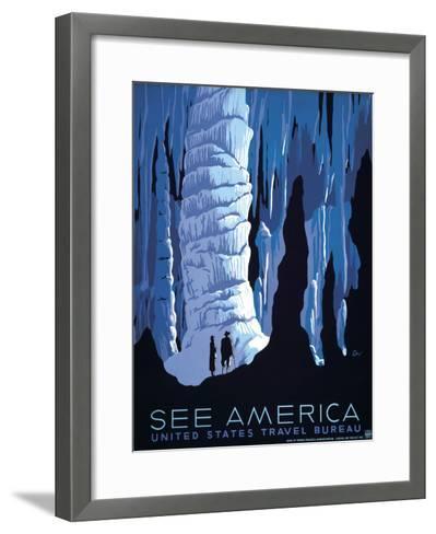 See America--Framed Art Print