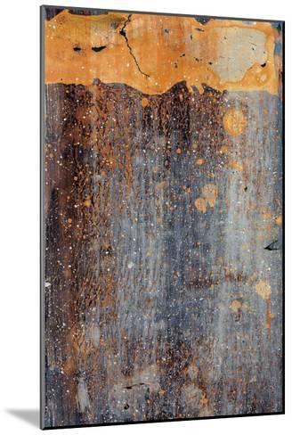 Orange Splash-J^ McKenzie-Mounted Art Print