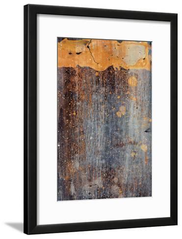 Orange Splash-J^ McKenzie-Framed Art Print