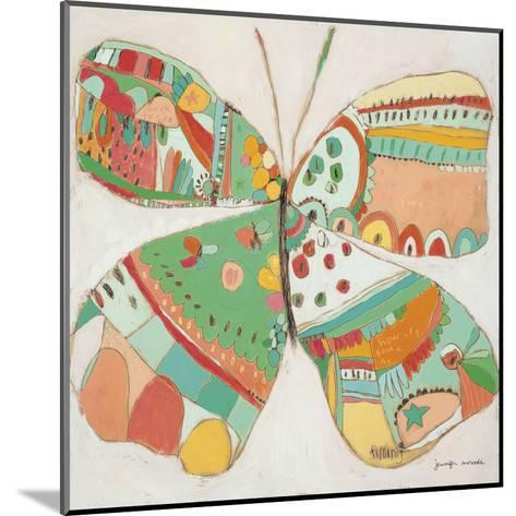 Sweet Cream Fly-Jennifer Mercede-Mounted Art Print