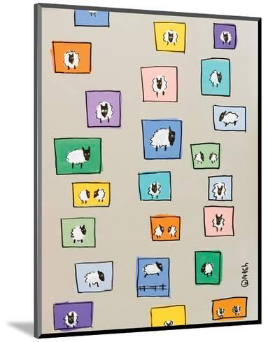 Sheep I-Brian Nash-Mounted Art Print