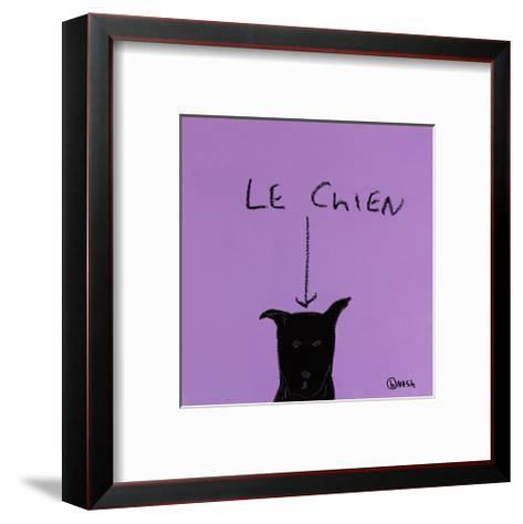 Le Chien-Brian Nash-Framed Art Print