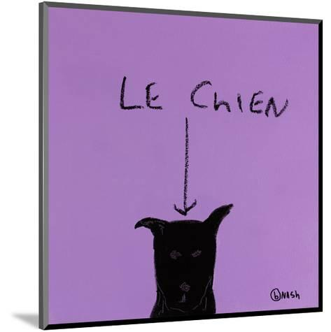Le Chien-Brian Nash-Mounted Art Print