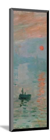 Impression, Sunrise, c. 1872 (detail)-Claude Monet-Mounted Giclee Print