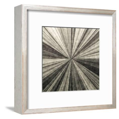 Silver Burst-Mali Nave-Framed Art Print