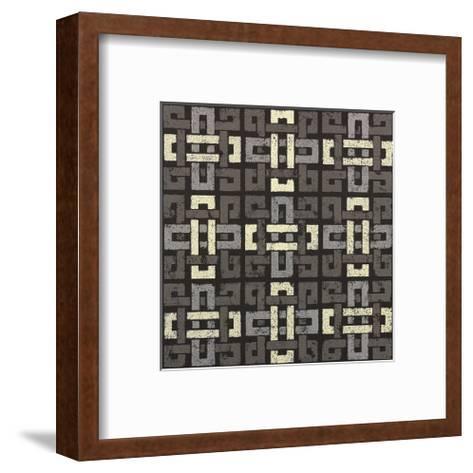 Large Knot 9 Square-Susan Clickner-Framed Art Print