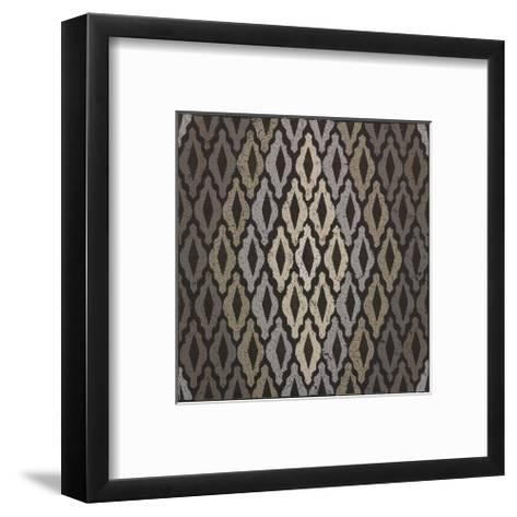Moroccan Tile with Diamond-Susan Clickner-Framed Art Print