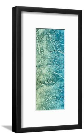 Elements (Blue)-J^ McKenzie-Framed Art Print