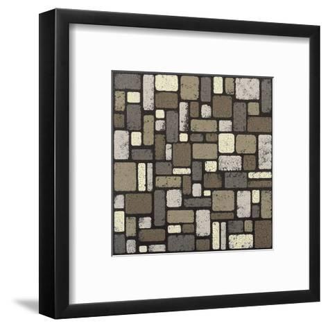 Modern Tiles-Susan Clickner-Framed Art Print
