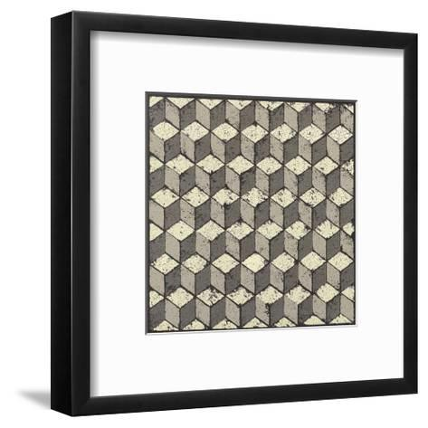 Tumbling Blocks-Susan Clickner-Framed Art Print