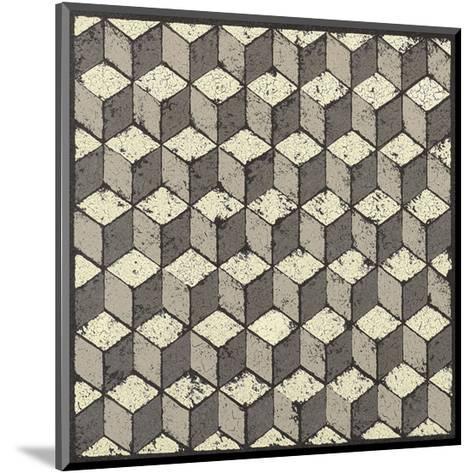 Tumbling Blocks-Susan Clickner-Mounted Giclee Print