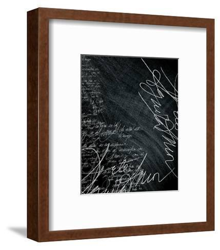 Thoughts After Time 2-Carolina Pecora-Framed Art Print