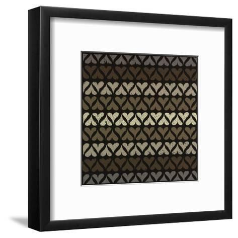 Row of Hearts-Susan Clickner-Framed Art Print