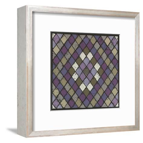 Harlequin - Plum-Susan Clickner-Framed Art Print
