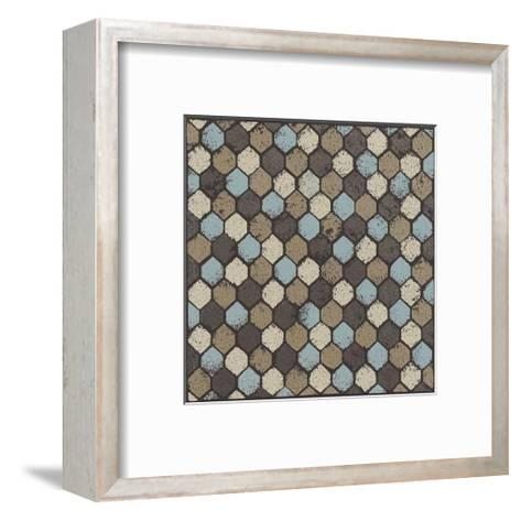 Honeycomb (Blue)-Susan Clickner-Framed Art Print