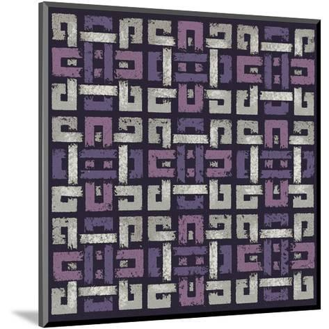 Large Knotted Weave (Purple)-Susan Clickner-Mounted Giclee Print