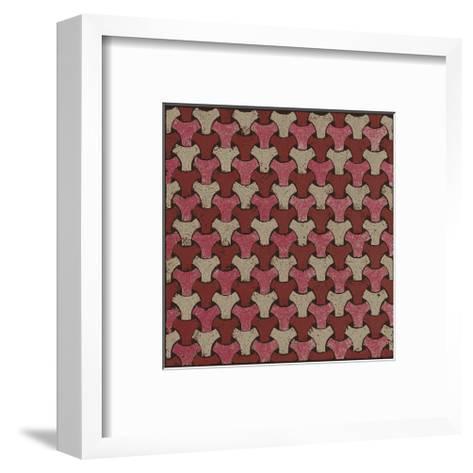 Interwoven (Red)-Susan Clickner-Framed Art Print