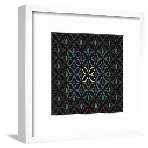 Moroccan Grill (Teal)-Susan Clickner-Framed Art Print