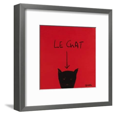Le Chat-Brian Nash-Framed Art Print