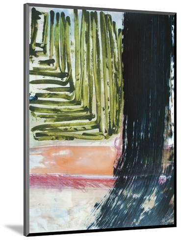 Through the Wires-Veronica Bruce-Mounted Giclee Print