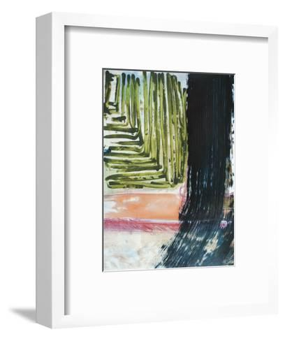 Through the Wires-Veronica Bruce-Framed Art Print