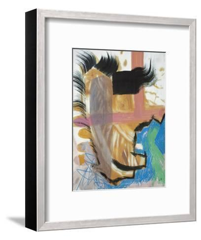 In the Running-Veronica Bruce-Framed Art Print