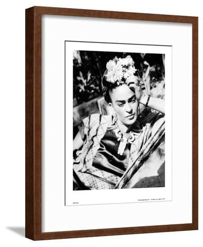 Portrait of Frida Kahlo Mounted Print by | Art.com