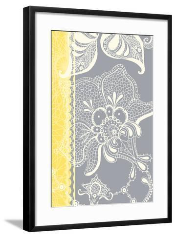 Wild Lace I-Ingrid Van Den Brand-Framed Art Print