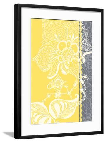 Wild Lace II-Ingrid Van Den Brand-Framed Art Print
