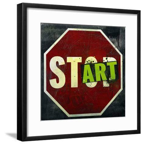 Start-Daniel Bombardier-Framed Art Print