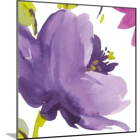 Violet Flower I-Sandra Jacobs-Mounted Giclee Print