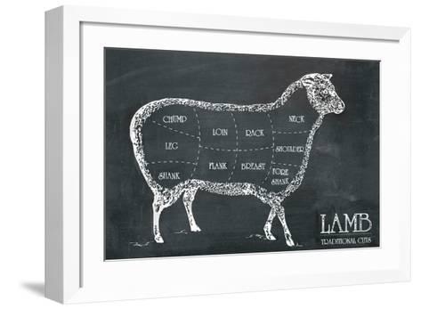 Butcher's Guide I-The Vintage Collection-Framed Art Print