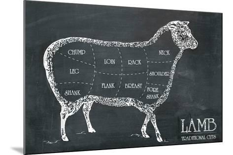 Butcher's Guide I-The Vintage Collection-Mounted Giclee Print