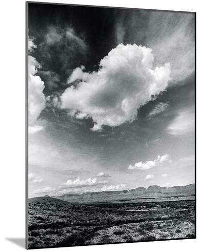 Desert Clouds-Andrew Geiger-Mounted Giclee Print