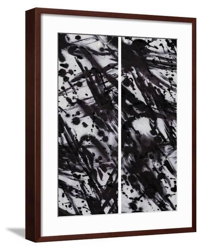 Tumult-Tanuki-Framed Art Print