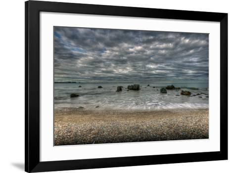 Riverton Rocks-Nathan Secker-Framed Art Print